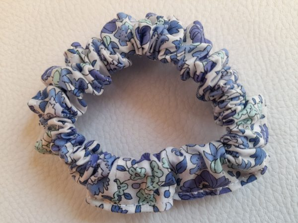 Chouchous – Liberty bleu et vert d'eau – 10€ les 3