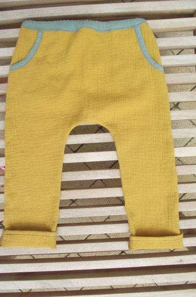 Pantalon enfant double gaze – 3 ans