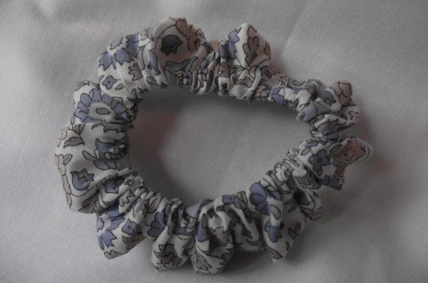 Chouchous – Liberty tons vieux rose et bleu 10€ les  4